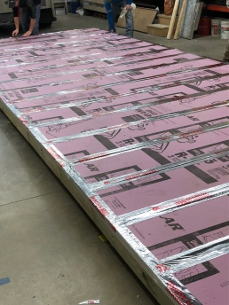 Taped and sealed Insulation