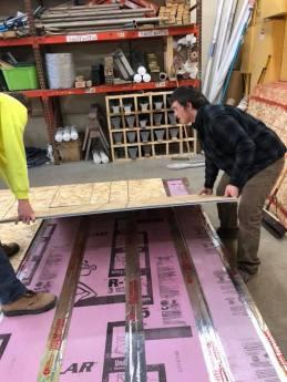 Laying Plywood