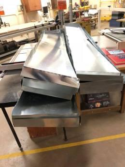 Prefabricated Metal Trays